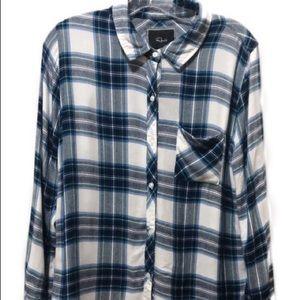 Rails plaid shirt in size L